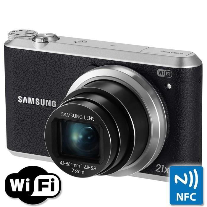 APPAREIL PHOTO COMPACT SAMSUNG WB350F Compact Noir - CMOS 16MP Zoom 21x