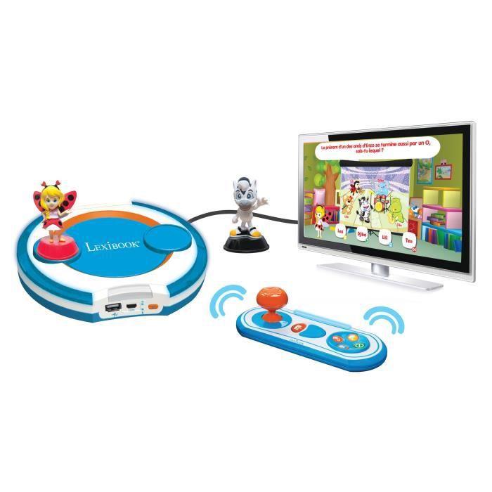 Lexibook ma premi re console de jeux interactive achat vente console ducative cdiscount - Console de jeux lexibook ...
