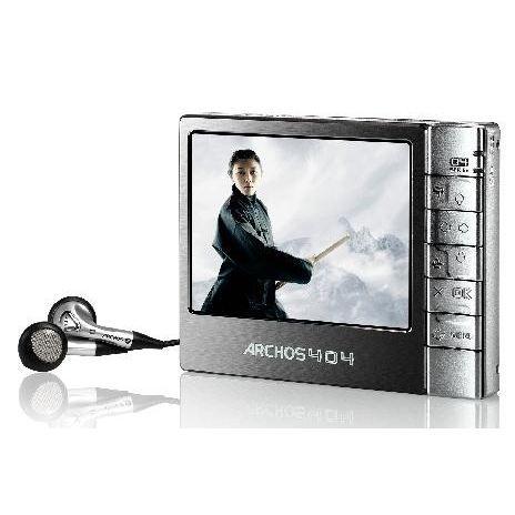 LECTEUR MP3 ARCHOS 404 30 Go (Reconditionné*)
