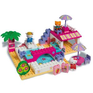 ASSEMBLAGE CONSTRUCTION Le club de plage de hello kitty Briques