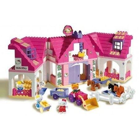 La Grande Ferme De Hello Kitty Briques Achat Vente Assemblage Construction Cdiscount