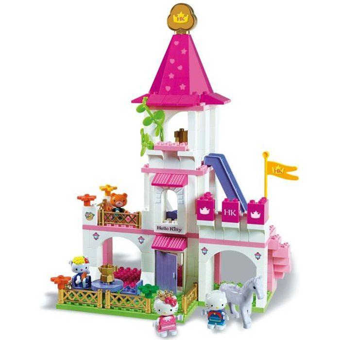 Le Ch Teau De Hello Kitty Briques Achat Vente Assemblage Construction Cdiscount