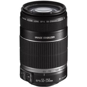 OBJECTIF Canon EF-S 55-250 mm f/4-5.6 IS