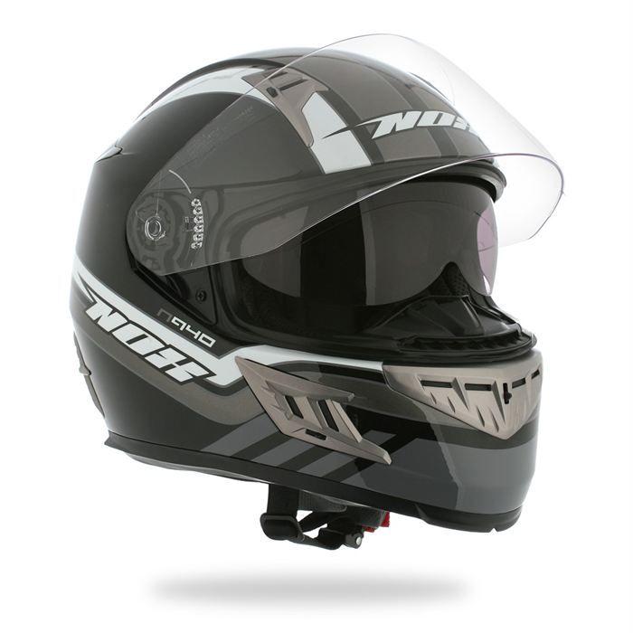 Casque Moto Scooter integral NOX N940 Noir Mat  Moto deal
