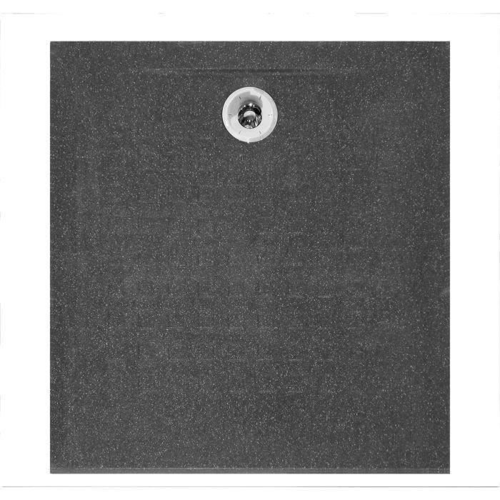 Creazur receveur de douche r sisol 80x80cm achat vente - Receveur de douche 80x80 ...