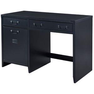 meubles bureau industriel achat vente meubles bureau industriel pas cher cdiscount. Black Bedroom Furniture Sets. Home Design Ideas