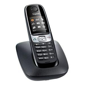 Téléphone fixe Gigaset C620 Noir Sans Répondeur