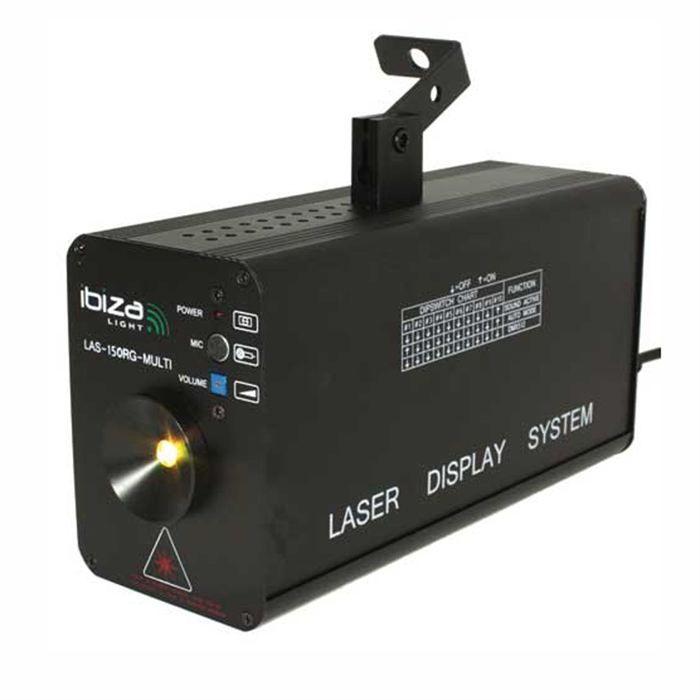ibiza lass150rg laser sono et jeux de lumi re eclairage. Black Bedroom Furniture Sets. Home Design Ideas