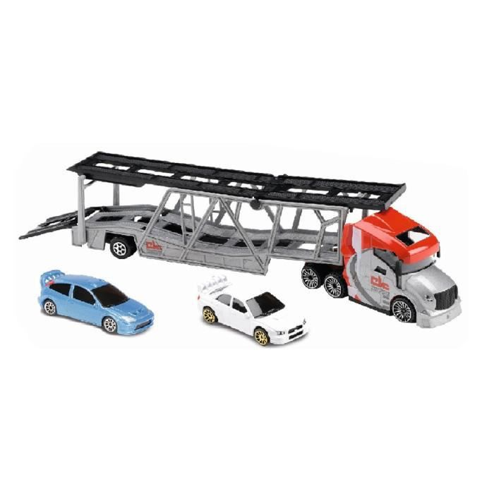 voiture camion majorette camion de transport rouge. Black Bedroom Furniture Sets. Home Design Ideas