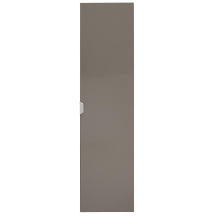 Sigma colonne de salle de bain l 30 cm taupe brillant for Colonne salle de bain largeur 30 cm