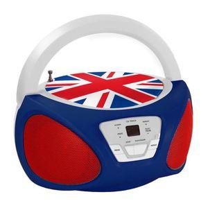 RADIO CD ENFANT UNION JACK Boombox