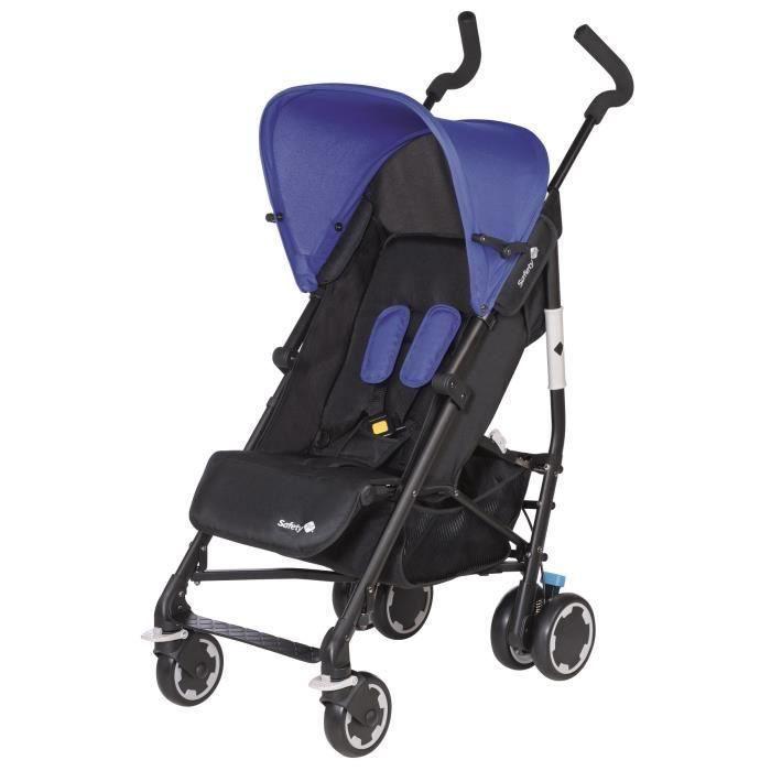 Destockage safety 1st pousette canne compa 39 city plain blue poussette au - Destockage meuble bebe ...