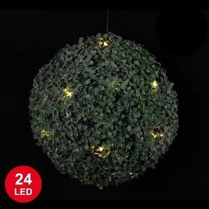 Boule bui achat vente boule bui pas cher cdiscount for Boule de buis artificiel pas cher