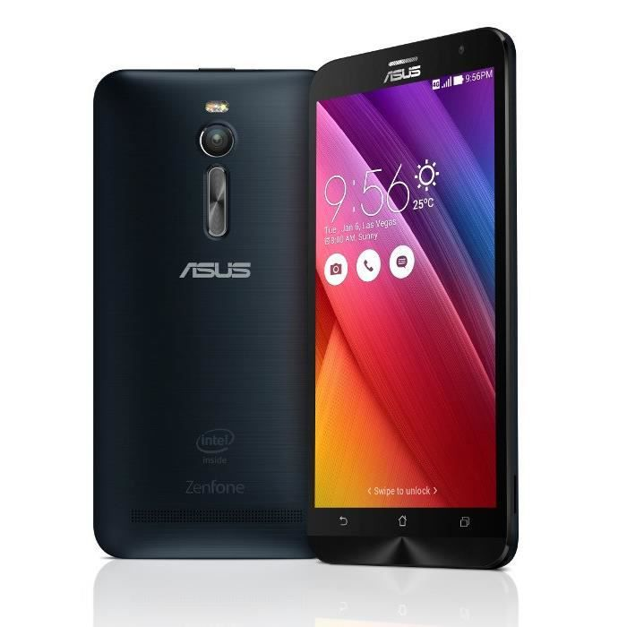 asus zenfone 2 ze551ml full hd 32go noir smartphone. Black Bedroom Furniture Sets. Home Design Ideas