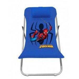 Transat pliant spiderman pour enfant spb400172 achat for Transat bois pliant