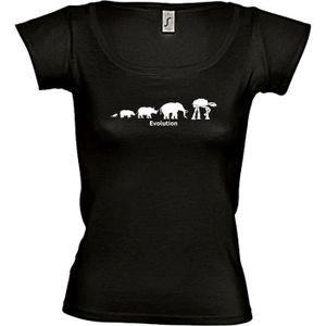 T-SHIRT T-shirt Femme GEEK évolution rob…