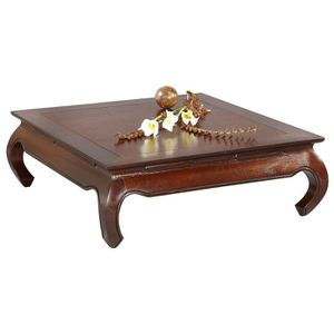 Table basse carree 100x100 achat vente table basse - Table basse carree 100x100 ...