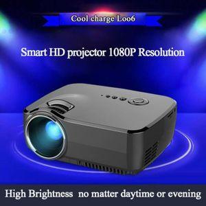 Vidéoprojecteur GP70 Portable 1200 Soutien Lumens LED haute puissa