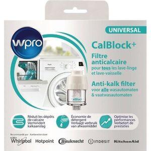 LAVE-LINGE WPRO CAL100 CALBOLCK + filtre anticalcaire lave li