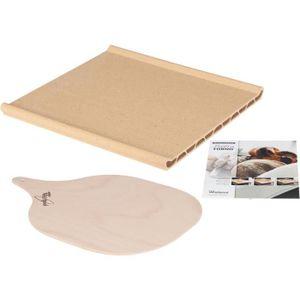PIÈCE DE PETITE CUISSON WPRO PTF100 Pierre à pizza : contient une plaque e