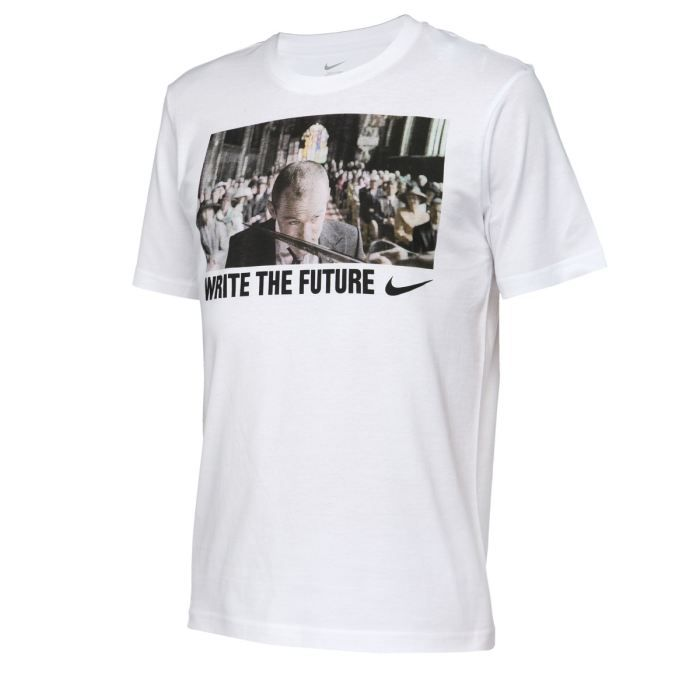 nike t shirt homme blanc achat vente t shirt nike tee shirt homme cdiscount. Black Bedroom Furniture Sets. Home Design Ideas