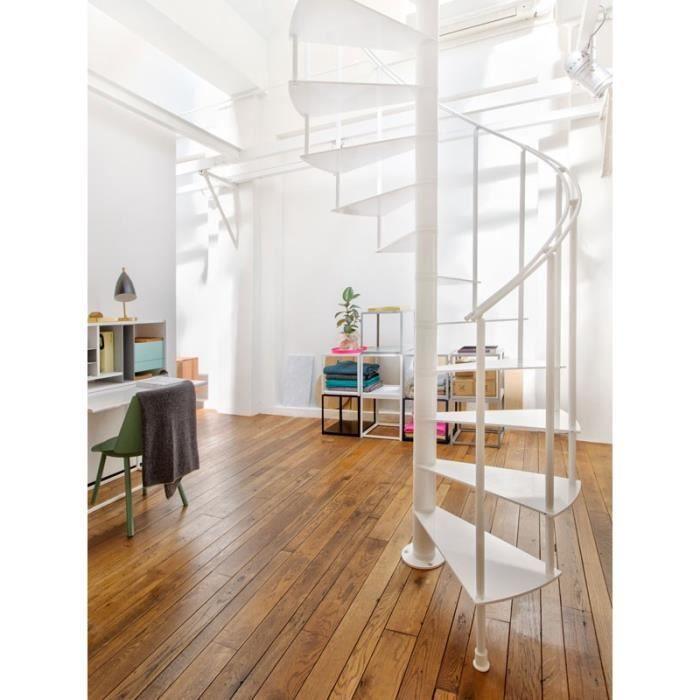 escalier en colima on slim de chez fontanot diametre 130cm hauteur r glable 250 285cm 12. Black Bedroom Furniture Sets. Home Design Ideas