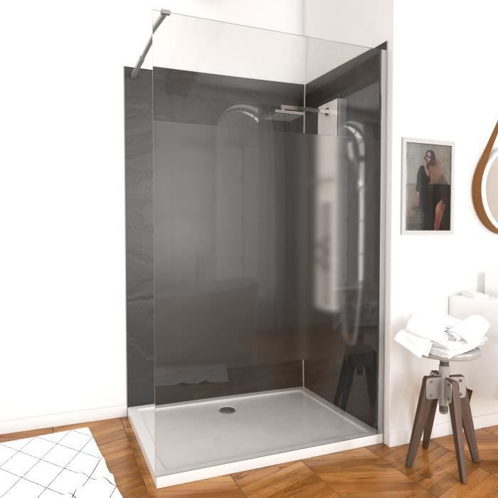 aurlane paroi de douche parma 140cm d poli achat vente porte de douche aurlane paroi de. Black Bedroom Furniture Sets. Home Design Ideas