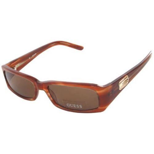 lunettes de soleil guess neuves femme 6116 lbrn marron achat vente lunettes de soleil. Black Bedroom Furniture Sets. Home Design Ideas