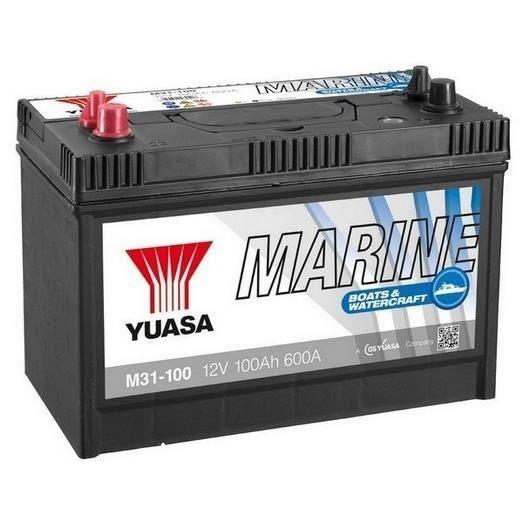 yuasa marine batterie pour bateau et voilier 12v 100ah 600a achat vente batterie v hicule. Black Bedroom Furniture Sets. Home Design Ideas