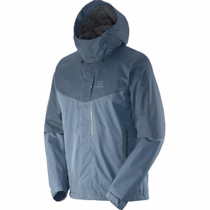 veste de randonn e homme salomon gris achat vente veste de sport cdiscount. Black Bedroom Furniture Sets. Home Design Ideas