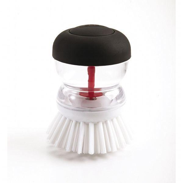 brosse vaisselle avec r servoir blanc et noir achat vente ponge vaisselle brosse. Black Bedroom Furniture Sets. Home Design Ideas
