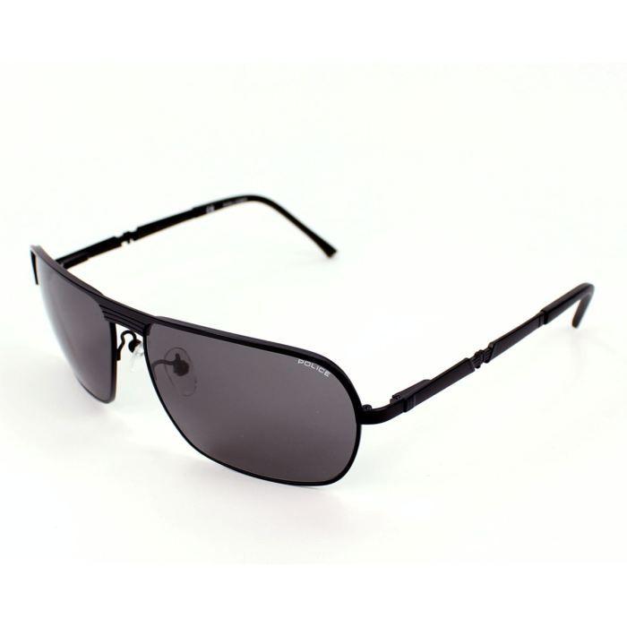 lunettes de soleil police s8745 noir verres gris noir achat vente lunettes de soleil homme. Black Bedroom Furniture Sets. Home Design Ideas