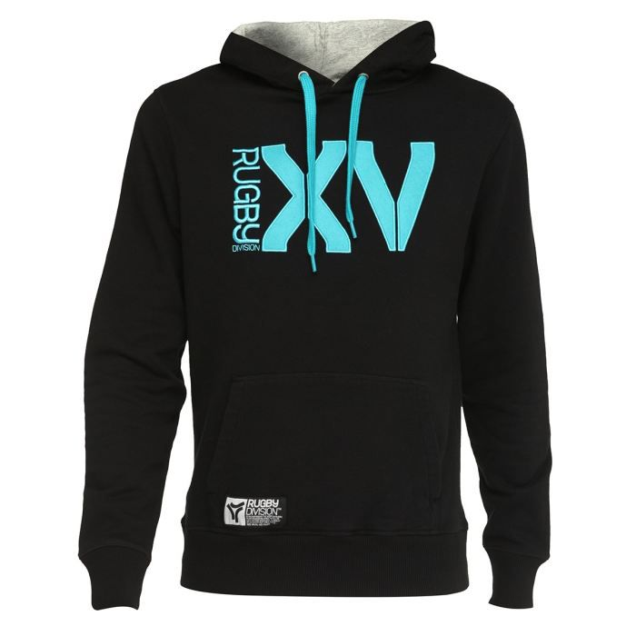 Rugby division sweat capuche xv mono achat vente for Interieur sport rugby
