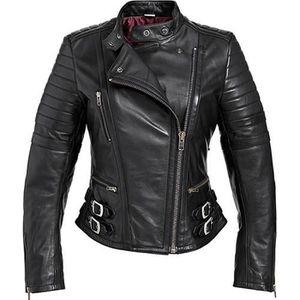 blouson cuir femme moto achat vente blouson cuir femme. Black Bedroom Furniture Sets. Home Design Ideas