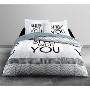 housse de couette montagne achat vente housse de. Black Bedroom Furniture Sets. Home Design Ideas