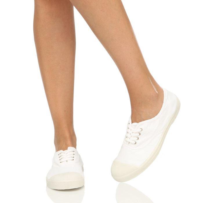 bensimon baskets f15004c15113 laces femme femme blanc achat vente bensimon baskets. Black Bedroom Furniture Sets. Home Design Ideas