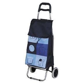 poussette de marche caddie de course ou chariot rouge. Black Bedroom Furniture Sets. Home Design Ideas