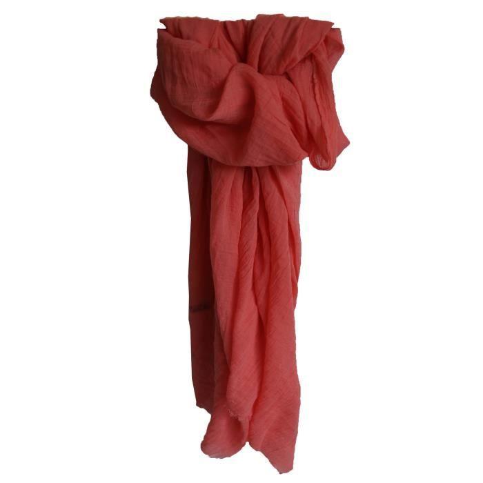 etole couleur rose fuchsia unie en coton rose achat vente echarpe foulard 3214038102101. Black Bedroom Furniture Sets. Home Design Ideas
