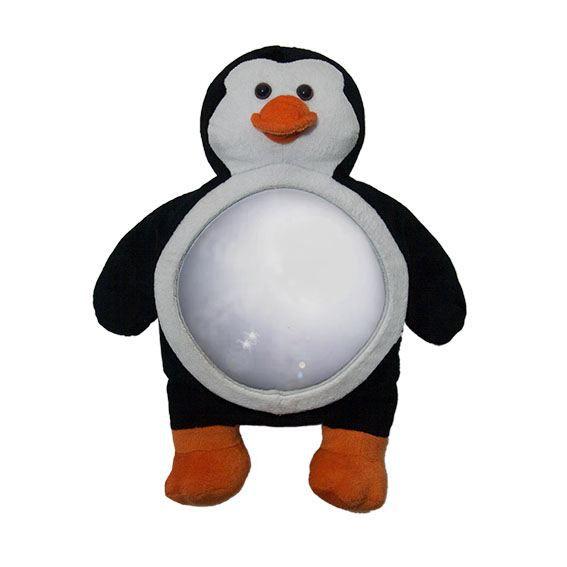 miroir de voiture pingouin. Black Bedroom Furniture Sets. Home Design Ideas