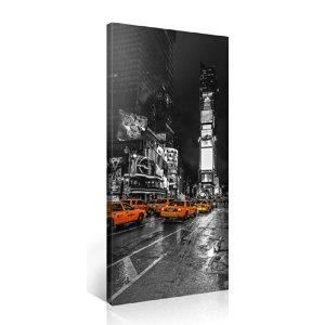 Tableau deco moderne toile new york times square achat for Tableau moderne new york