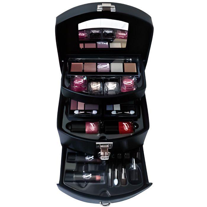 mallette de maquillage fashion model 32 pcs achat vente palette de maquillage mallette. Black Bedroom Furniture Sets. Home Design Ideas