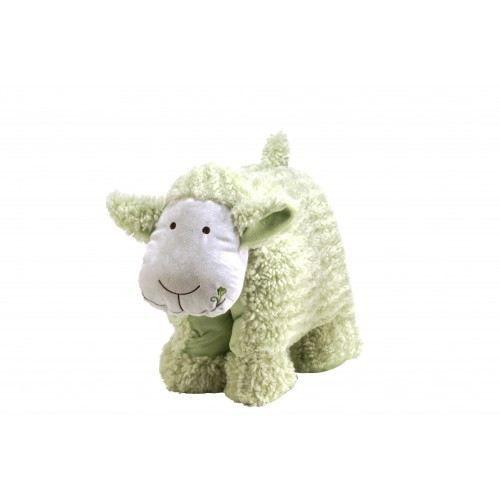 cadeau naissance coussin pompon le mouton vert achat vente peluche cdiscount. Black Bedroom Furniture Sets. Home Design Ideas
