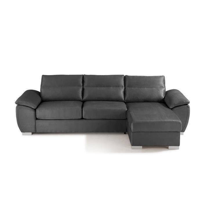 geneva dolce canap d 39 angle droit convertible 5 places. Black Bedroom Furniture Sets. Home Design Ideas