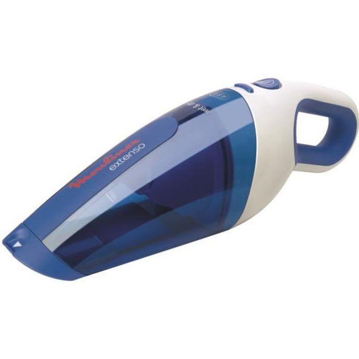 MOULINEX - Aspirateur à main extenso Wet & Dry 4,8v