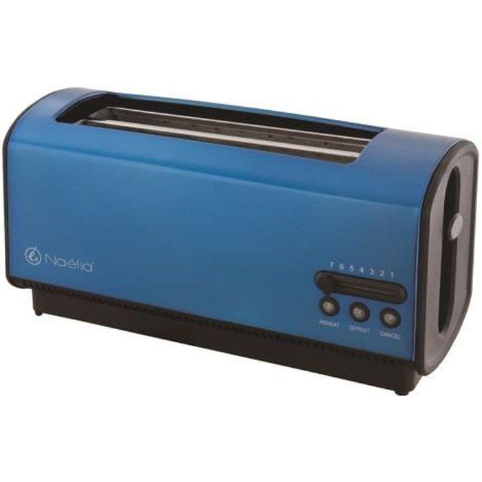 grille pain naelia bleu lectrique achat vente grille pain toaster cdiscount. Black Bedroom Furniture Sets. Home Design Ideas