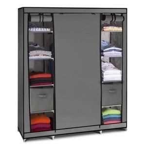 armoire en tissus achat vente armoire en tissus pas. Black Bedroom Furniture Sets. Home Design Ideas