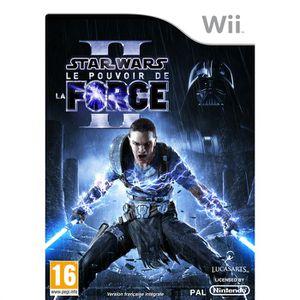 JEUX WII STAR WARS LE POUVOIR DE LA FORCE 2 / Wii