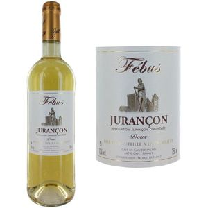 VIN BLANC Jurançon Febus blanc doux 75cL
