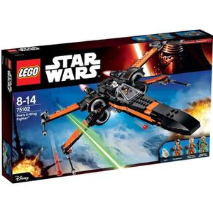 ASSEMBLAGE CONSTRUCTION LEGO® Star Wars 75102 Poe's X-Wing Fighter