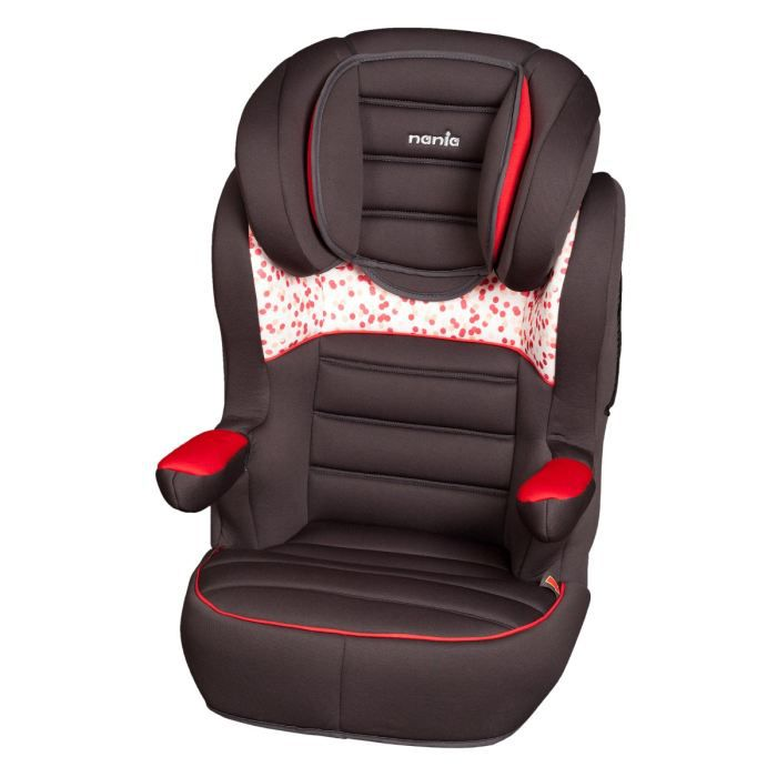 Nania si ge auto r way sp luxe gr 2 3 noir rouge achat - Rehausseur auto inclinable ...